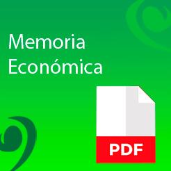 Memoria Económica